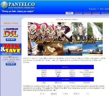 PANTELCO site launches over the web