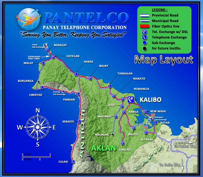 pantelco map layout